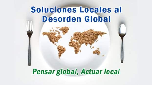 Soluciones locales por un desorden global