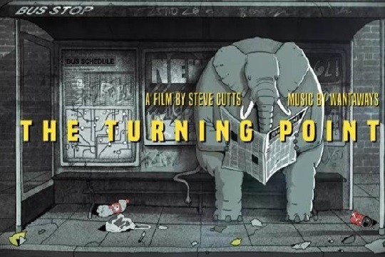 «Punto sin retorno» por Steve Cutts.
